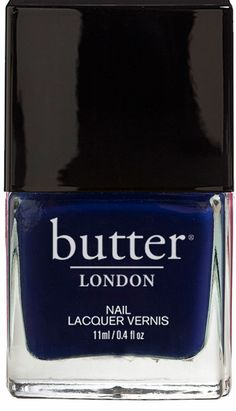 Hellooo Sailor. Nautical and naughty, this is the answer to your navy blue nail lacquer dreams.