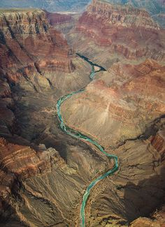 intothegreatunknown:  Colorado River from above | Arizona, USA
