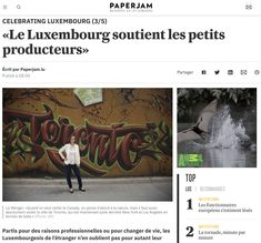 August Paperjam interview of Liz Wenger Interview, Luxembourg, Moving To Canada, Flower Artists, Small Minds, Dried Flower Arrangements, Birth Flowers, Business Outfits, Helping People