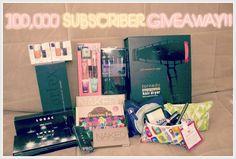 100,000 Subscriber Giveaway ♡ 15 WINNERS (OPEN)
