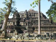 Baphuon, a Step Pyramid - Angkor, Cambodia - Pyramids on Waymarking.com