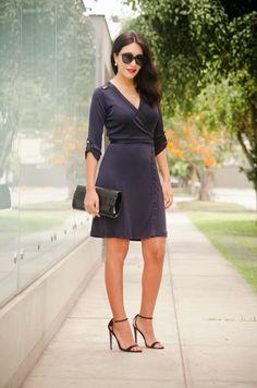 estilozas: Mis looks: Wrap Dress