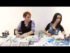 Monika Brýdová - Fimo, květinová louka - díl 1 - YouTube