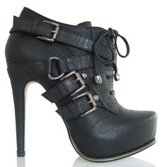 Oh my.......I want these soooo badly!!!  Madame Deluxe Ankle Boot