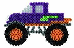 Make in different colors for party favors? Melty Bead Patterns, Pearler Bead Patterns, Perler Patterns, Beading Patterns, Perler Beads, Perler Bead Art, Fuse Beads, Crochet Pixel, Seed Bead Crafts