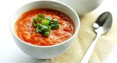 Receita de Sopa de Tomate www.carolcelico.com