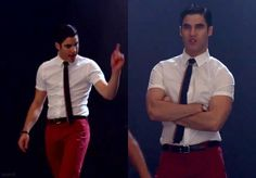 "4x01 ""The new Rachel""  #Blaine #glee"