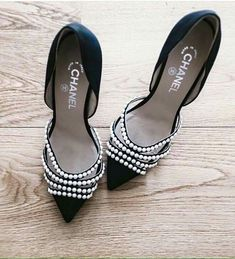 These Chanel women's shoes are FIRE.