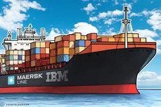 IBM a Maersk vytvoří dodavatelský řetězec, založený na blockchainu - Zprávy Krize15