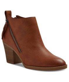 Jameson Double Side Zip Booties | Stock up on your fall trend pieces and classics.