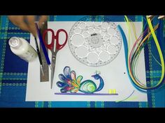 37. How to make Quilling Peacock Incense Holder - YouTube
