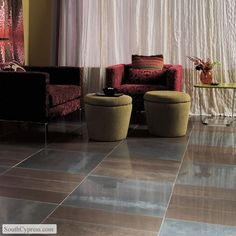 Metal Fusion Bronzed Copper And Stainless Steel featured on the Metal Look Tile page from South Cypress.