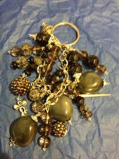 charm key chains by momskeychains on Etsy, $15.00