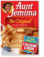 Aunt Jemima Original Pancake Waffle Mix Made the best waffles ever-according to instructions on box used oil and water and my belgian waffle maker. Light, stayed crispy and did not get soggy Freeze Pancakes, Tasty Pancakes, Pancakes And Waffles, Waffle Recipes, Gourmet Recipes, Best Pancake Mix, Aunt Jemima Pancakes, Aunt Jemima Biscuits Recipe, Original Pancake