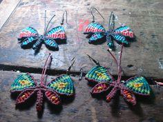 aros mariposas