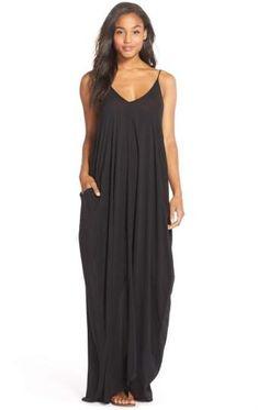 Elan V-Back Cover-Up Maxi Dress #fashion #minimalistfashion #dress