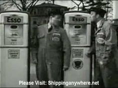 An assortment of old Esso Gas Station Commercials