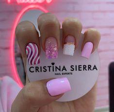 Beauty Nails, Hair Beauty, Nail Art, French, Work Nails, Vestidos, Polish Nails, Decorations, Short Nail Manicure