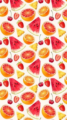 Money Art Collage - Money Tree Topiary - Money Stacks Jewelry - Money Tree Photography - Chicano Money Tattoo - Get Money Quotes Wallpaper Food, Iphone Background Wallpaper, Aesthetic Iphone Wallpaper, Screen Wallpaper, Aesthetic Wallpapers, Watercolor Fruit, Watercolor Pattern, Cute Wallpaper Backgrounds, Cute Wallpapers