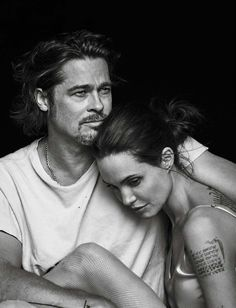 Vanity Fair Italia November 11th, 2015: Angelina Jolie & Brad Pitt by Peter Lindbergh