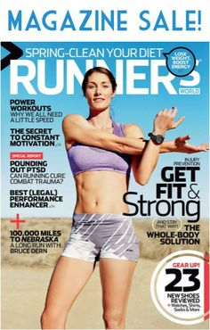 Runner's World Magazine Sale: as low as $5.62 per year! #running #fitness #thefrugalgirls