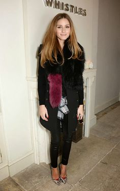 THE OLIVIA PALERMO LOOKBOOK By Marta Martins: London Fashion Week 2014 : Olivia Palermo At Whist...