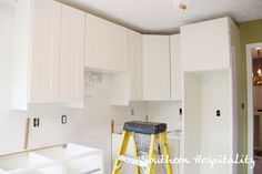 Why I chose Ikea cabinets in my new house! #Ikea #kitchen.  Lots of good picts. and some tips