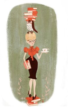 librarian bookended print by missbrigette on Etsy