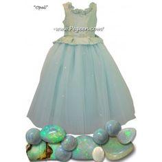 2447421c09 10 Best Periwinkle Flower Girl Dresses   Weddings by Pegeen.com ...