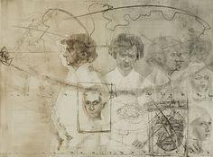 Jiri Anderle (Czech, b. 1936)  Portrait of My Friend [Jiri Masin]  from Cycle: Portraits in the Passage of Time, 1979