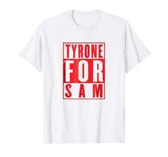 Tyrone For Sam GAA Football T-Shirt Branded T Shirts, Fashion Brands, Football, Mens Tops, Soccer, Futbol, American Football, Soccer Ball