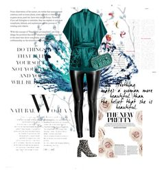 """""""woman"""" by the-vintage-palace2016 ❤ liked on Polyvore featuring Carine Gilson and STELLA McCARTNEY"""