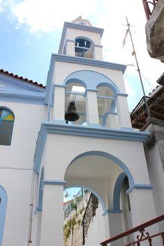 Samos, Greece Islands, Amazing Nature, Resorts, Beautiful Places, Building, Water, Travel, Greece