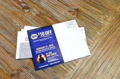NAPA EDDM® postcards. They included a special coupon to increase store foot traffic.