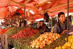 Bazaar in Kunduz