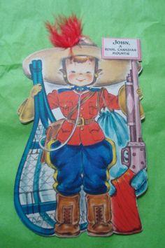 Hallmark-1940s-Dolls-of-the-Nations-Paper-Doll-Greeting-Card-John-Royal-Canadi