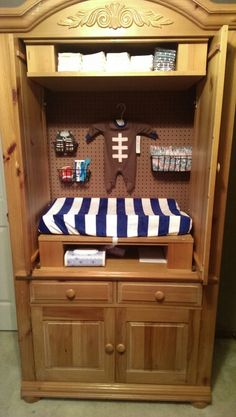 Updated Armoire To Changing Table · Nursery ...
