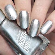 Nail Polish Society>> Sally Hansen Insta-Dri New Shades) Sally Hansen Nails, Nail Colors, Swatch, Nail Polish, Make Up, Nail Art, Shades, Hair Styles, Pretty