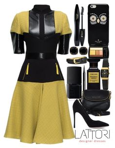 """""""Happy Friday"""" by j-n-a ❤ liked on Polyvore featuring мода, Lancôme, Armitron, NARS Cosmetics, H&M, Lattori, Michael Kors, INC International Concepts, Kate Spade и Gianvito Rossi"""