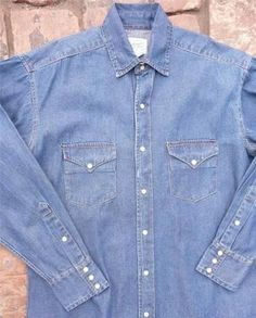 Denim Western Shirt - Brought to you by Avarsha.com