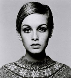 "I know this dates me, but Twiggy was ""in"" when I was a teenager."