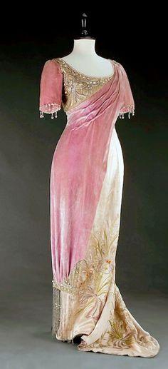 Diary of a Dream Come True: Projet robe du soir 1910 pour l'Opéra Garnier