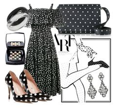 """""""Ruffle and Pois"""" by lullulu on Polyvore featuring Victoria Beckham, Dolce&Gabbana, Kate Spade and INC International Concepts"""
