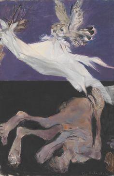 Painter Ceri Richards (British: 1903–1971) -  ''Do not go gentle into that good night'', 1956 © The estate of Ceri Richards