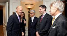 Joe Biden and Evercore's Richard Altman