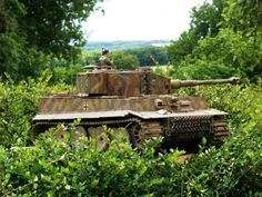 Panzerkampfwagen VI Tiger 1 Ausfuhrung E , mid production . The classic WW2 German tank — much feared by the allied forces . The design emph...