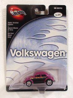 2002 HOT WHEELS 100% VOLKSWAGEN SERIES VW BEETLE BUG