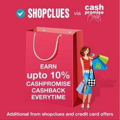 shopclues via cashpromise.in Online Shopping Sites, Credit Card Offers, Family Guy, Griffins
