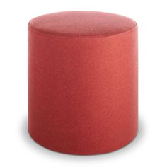 Bumper Small Ottoman: A round ottoman upholstered with fabric available in 13 colors. Buy this small round ottoman and modern ottomans at Blu Dot. School Furniture, Sofa Furniture, Small Round Ottoman, Beach Chair With Canopy, Chair Leg Floor Protectors, Modern Ottoman, Patterned Armchair, Upholstered Ottoman, Table Seating