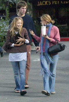 In 2002, Ashley Olsen and Mary-Kate Olsen Bringing Home a new Puppy.